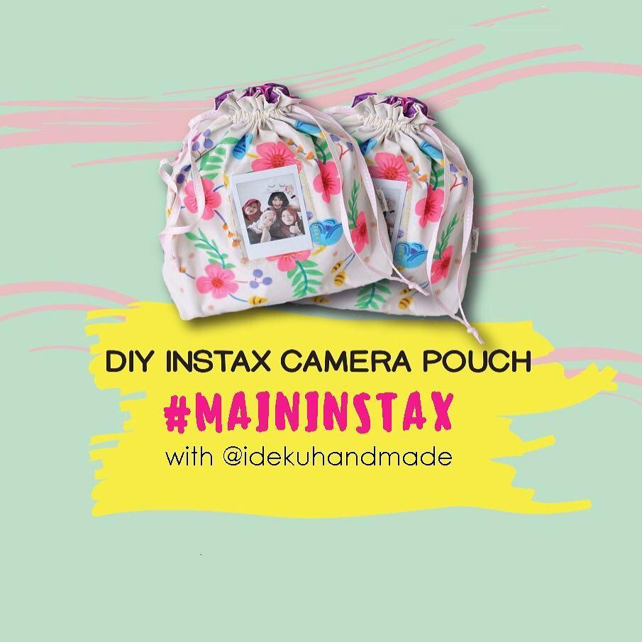 DIY Instax Mini Camera Pouch